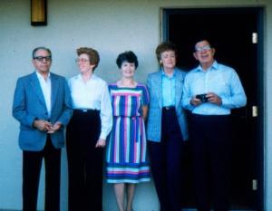 Uncle Pick, Aunt Marie, Mom, Aunt Juanita, and Uncle Jack