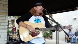 Dan At Saturday open mic at SWRFA