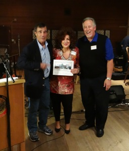 Harry Hewlett, Dori Weaver, and Michael Brandenberger